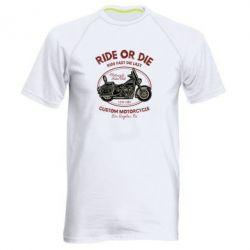 Чоловіча спортивна футболка Ride Or Die
