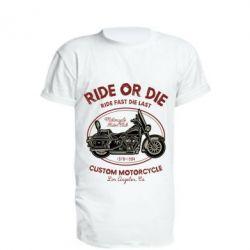 Подовжена футболка Ride Or Die