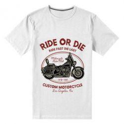 Чоловіча стрейчева футболка Ride Or Die