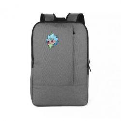 Рюкзак для ноутбука Рик и Морти арт дорисовка