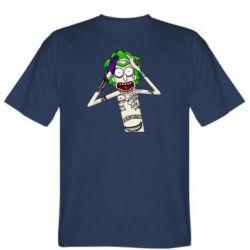 Чоловіча футболка Рік і Морті образ Джокера