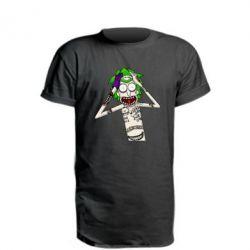 Подовжена футболка Рік і Морті образ Джокера