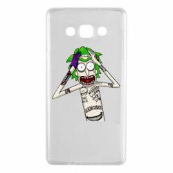 Чохол для Samsung A7 2015 Рік і Морті образ Джокера