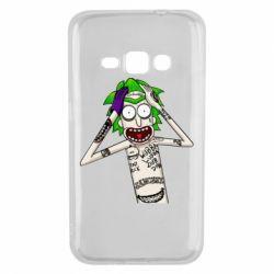 Чохол для Samsung J1 2016 Рік і Морті образ Джокера