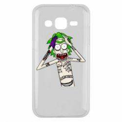 Чохол для Samsung J2 2015 Рік і Морті образ Джокера