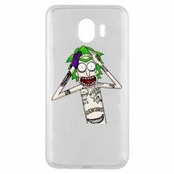 Чохол для Samsung J4 Рік і Морті образ Джокера