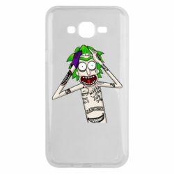Чохол для Samsung J7 2015 Рік і Морті образ Джокера