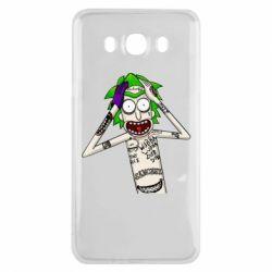 Чохол для Samsung J7 2016 Рік і Морті образ Джокера