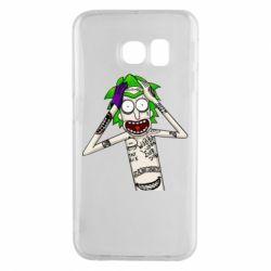 Чохол для Samsung S6 EDGE Рік і Морті образ Джокера