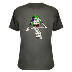 Камуфляжна футболка Рік і Морті образ Джокера