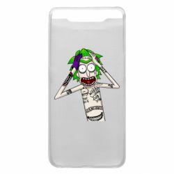Чохол для Samsung A80 Рік і Морті образ Джокера
