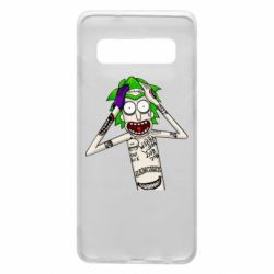 Чохол для Samsung S10 Рік і Морті образ Джокера