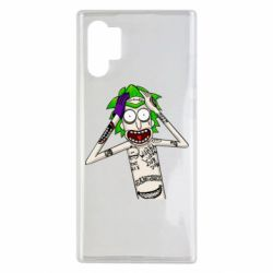 Чохол для Samsung Note 10 Plus Рік і Морті образ Джокера