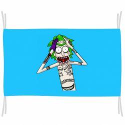 Прапор Рік і Морті образ Джокера