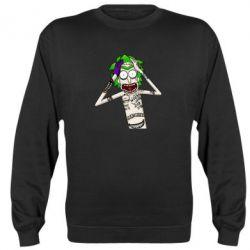 Реглан (світшот) Рік і Морті образ Джокера