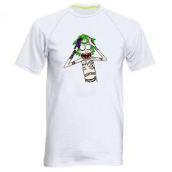 Чоловіча спортивна футболка Рік і Морті образ Джокера