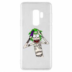 Чохол для Samsung S9+ Рік і Морті образ Джокера