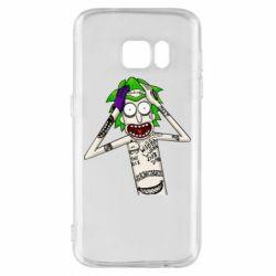 Чохол для Samsung S7 Рік і Морті образ Джокера