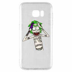 Чохол для Samsung S7 EDGE Рік і Морті образ Джокера