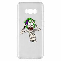 Чохол для Samsung S8+ Рік і Морті образ Джокера