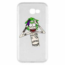 Чохол для Samsung A7 2017 Рік і Морті образ Джокера