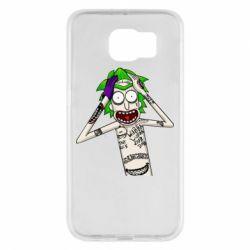 Чохол для Samsung S6 Рік і Морті образ Джокера