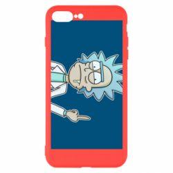 Чехол для iPhone 7 Plus Рик показывает средний, палец