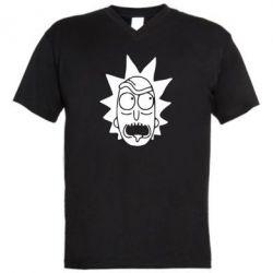 Чоловіча футболка з V-подібним вирізом Рик