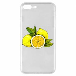 Чохол для iPhone 8 Plus Ripe lemons