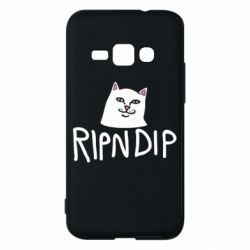 Чохол для Samsung J1 2016 Ripndip and cat