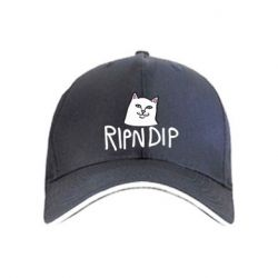 Кепка Ripndip and cat