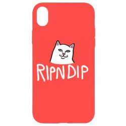 Чохол для iPhone XR Ripndip and cat