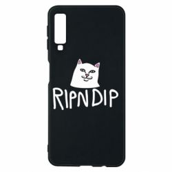 Чохол для Samsung A7 2018 Ripndip and cat