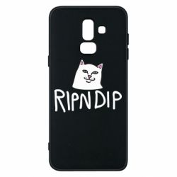 Чохол для Samsung J8 2018 Ripndip and cat