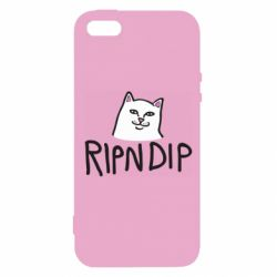 Чохол для iphone 5/5S/SE Ripndip and cat