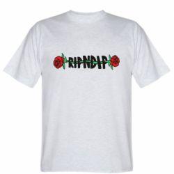 Мужская футболка RipnDip rose