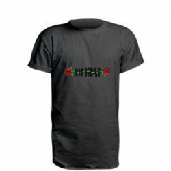 Удлиненная футболка RipnDip rose