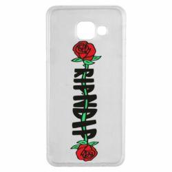 Чехол для Samsung A3 2016 RipnDip rose