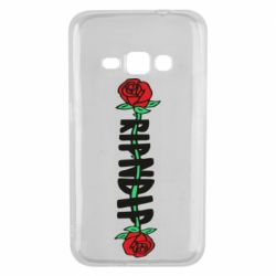 Чехол для Samsung J1 2016 RipnDip rose