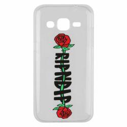 Чехол для Samsung J2 2015 RipnDip rose