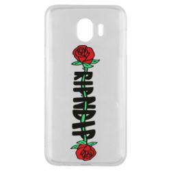 Чехол для Samsung J4 RipnDip rose