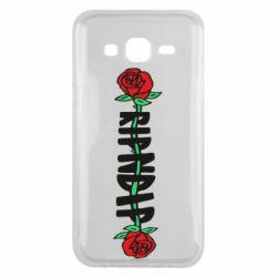 Чехол для Samsung J5 2015 RipnDip rose