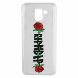 Чехол для Samsung J6 RipnDip rose