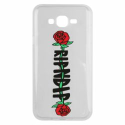Чехол для Samsung J7 2015 RipnDip rose