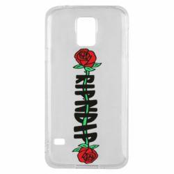 Чехол для Samsung S5 RipnDip rose