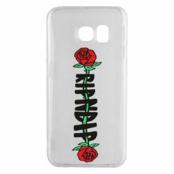 Чехол для Samsung S6 EDGE RipnDip rose