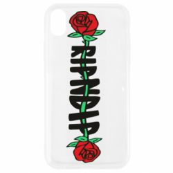 Чехол для iPhone XR RipnDip rose