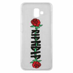 Чехол для Samsung J6 Plus 2018 RipnDip rose