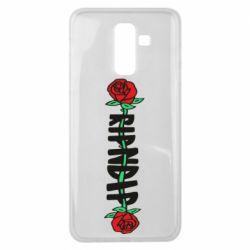 Чехол для Samsung J8 2018 RipnDip rose