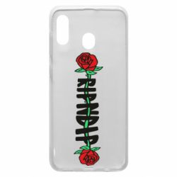 Чехол для Samsung A20 RipnDip rose